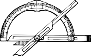 Winkelmesser metall